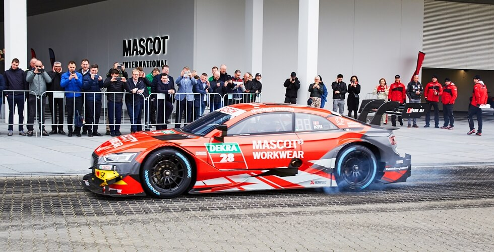 2019 - MASCOT WORKWEAR - DTM - Audi Sport - Audi Sport Official Supplier